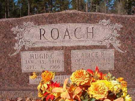 ROACH, HUGH C - Dallas County, Arkansas | HUGH C ROACH - Arkansas Gravestone Photos