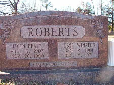 ROBERTS, JESSE WINSTON - Dallas County, Arkansas | JESSE WINSTON ROBERTS - Arkansas Gravestone Photos