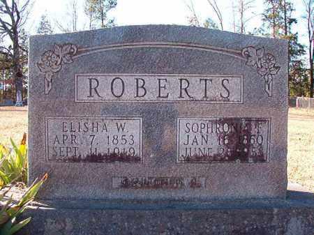 ROBERTS, SOPHRONIA F - Dallas County, Arkansas   SOPHRONIA F ROBERTS - Arkansas Gravestone Photos