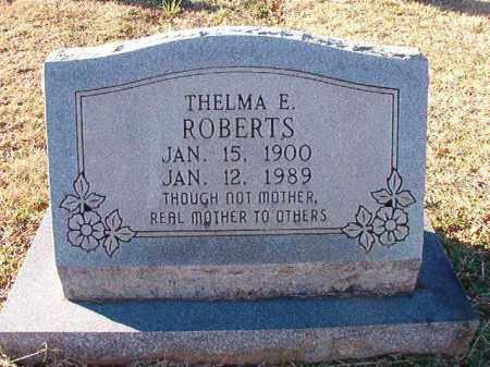 ROBERTS, THELMA E - Dallas County, Arkansas | THELMA E ROBERTS - Arkansas Gravestone Photos