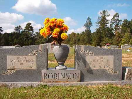 WOOD ROBINSON, VIDA - Dallas County, Arkansas | VIDA WOOD ROBINSON - Arkansas Gravestone Photos