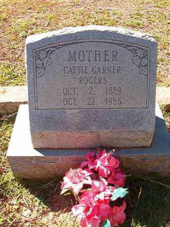 GARNER ROGERS, CATTIE - Dallas County, Arkansas | CATTIE GARNER ROGERS - Arkansas Gravestone Photos