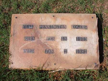 ROGERS, CLAY PENNINGTON - Dallas County, Arkansas | CLAY PENNINGTON ROGERS - Arkansas Gravestone Photos