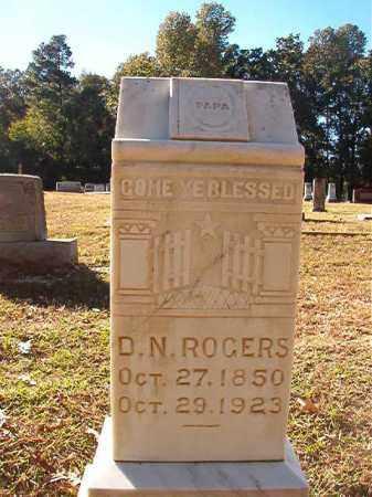ROGERS, D N - Dallas County, Arkansas | D N ROGERS - Arkansas Gravestone Photos