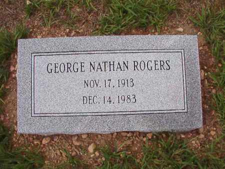 ROGERS, GEORGE NATHAN - Dallas County, Arkansas | GEORGE NATHAN ROGERS - Arkansas Gravestone Photos