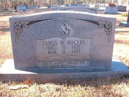 ROGERS, JAMES WINBURN - Dallas County, Arkansas | JAMES WINBURN ROGERS - Arkansas Gravestone Photos