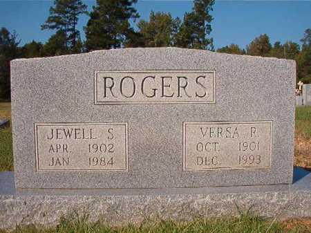 ROGERS, VERSA R - Dallas County, Arkansas | VERSA R ROGERS - Arkansas Gravestone Photos