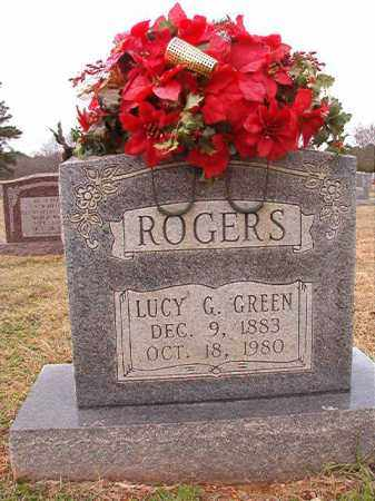 ROGERS, LUCY G - Dallas County, Arkansas | LUCY G ROGERS - Arkansas Gravestone Photos