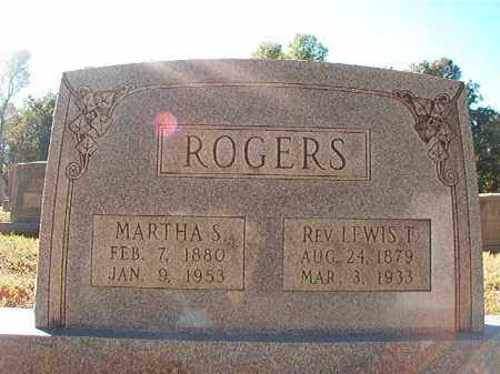 ROGERS, REV, LEWIS T - Dallas County, Arkansas | LEWIS T ROGERS, REV - Arkansas Gravestone Photos