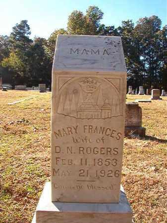 ROGERS, MARY FRANCES (CLOSEUP) - Dallas County, Arkansas | MARY FRANCES (CLOSEUP) ROGERS - Arkansas Gravestone Photos
