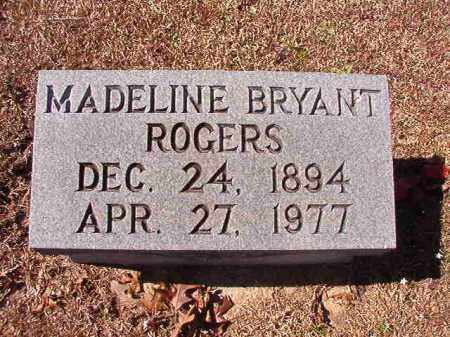 BRYANT ROGERS, MADELINE - Dallas County, Arkansas | MADELINE BRYANT ROGERS - Arkansas Gravestone Photos