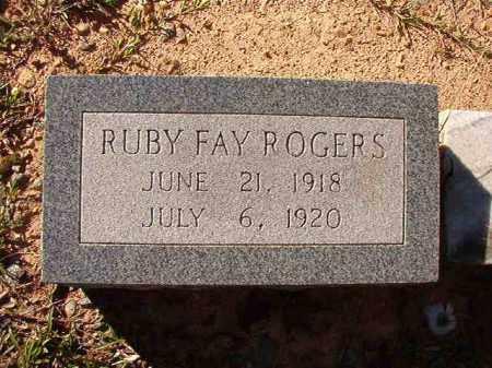 ROGERS, RUBY FAY - Dallas County, Arkansas | RUBY FAY ROGERS - Arkansas Gravestone Photos