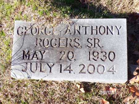 ROGERS, SR, GEORGE ANTHONY - Dallas County, Arkansas   GEORGE ANTHONY ROGERS, SR - Arkansas Gravestone Photos