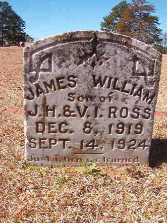 ROSS, JAMES WILLIAM - Dallas County, Arkansas | JAMES WILLIAM ROSS - Arkansas Gravestone Photos