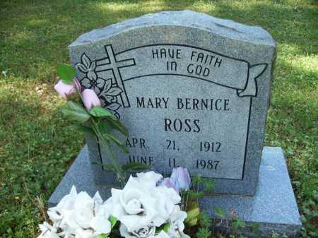 ROSS, MARY BERNICE - Dallas County, Arkansas | MARY BERNICE ROSS - Arkansas Gravestone Photos