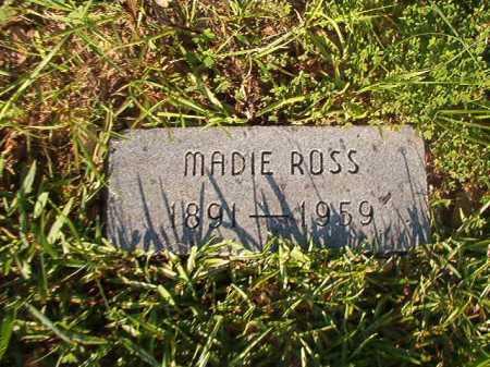 ROSS, MADIE - Dallas County, Arkansas | MADIE ROSS - Arkansas Gravestone Photos