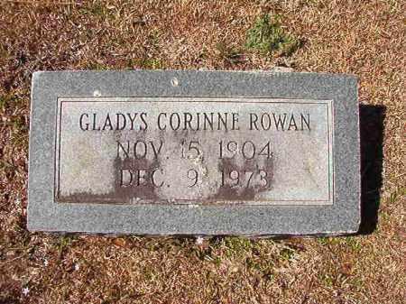 ROWAN, GLADYS CORINNE - Dallas County, Arkansas | GLADYS CORINNE ROWAN - Arkansas Gravestone Photos