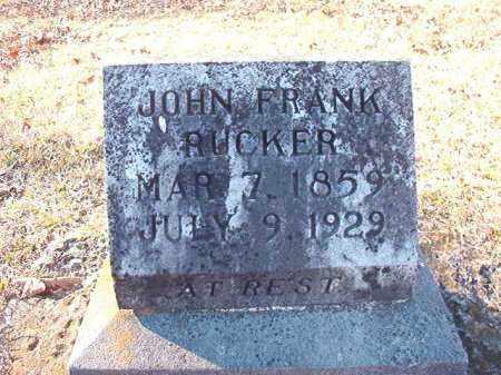 RUCKER, JOHN FRANK - Dallas County, Arkansas   JOHN FRANK RUCKER - Arkansas Gravestone Photos