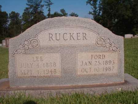 RUCKER, LEE - Dallas County, Arkansas | LEE RUCKER - Arkansas Gravestone Photos