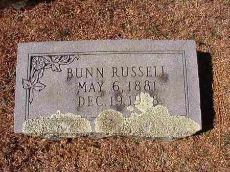 RUSSELL, BUNN - Dallas County, Arkansas | BUNN RUSSELL - Arkansas Gravestone Photos