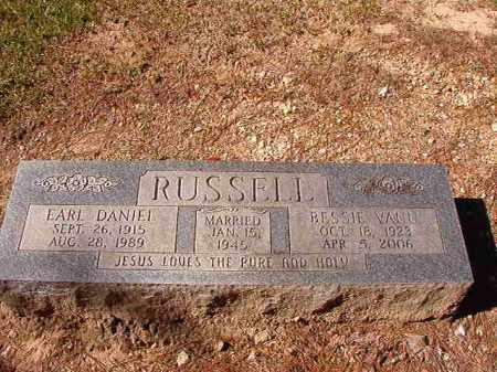 VANN RUSSELL, BESSIE - Dallas County, Arkansas | BESSIE VANN RUSSELL - Arkansas Gravestone Photos