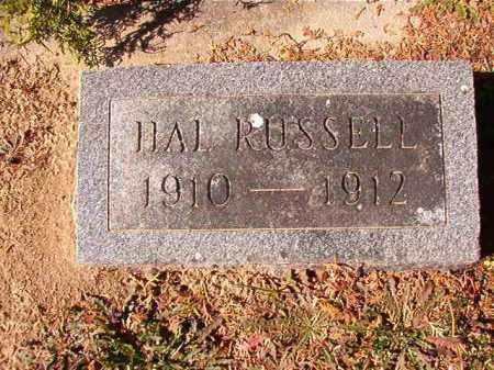 RUSSELL, HAL - Dallas County, Arkansas   HAL RUSSELL - Arkansas Gravestone Photos