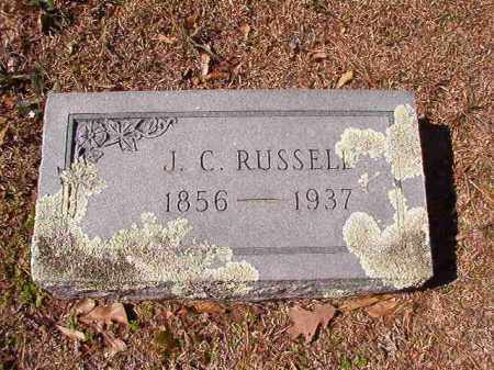 RUSSELL, J C - Dallas County, Arkansas | J C RUSSELL - Arkansas Gravestone Photos