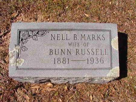 RUSSELL, NELL B - Dallas County, Arkansas   NELL B RUSSELL - Arkansas Gravestone Photos