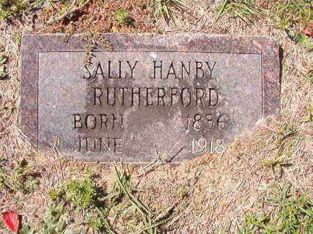 RUTHERFORD, SALLY - Dallas County, Arkansas | SALLY RUTHERFORD - Arkansas Gravestone Photos