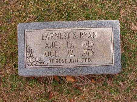 RYAN, EARNEST S - Dallas County, Arkansas   EARNEST S RYAN - Arkansas Gravestone Photos