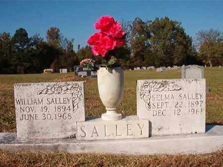 SALLEY, SELMA - Dallas County, Arkansas   SELMA SALLEY - Arkansas Gravestone Photos