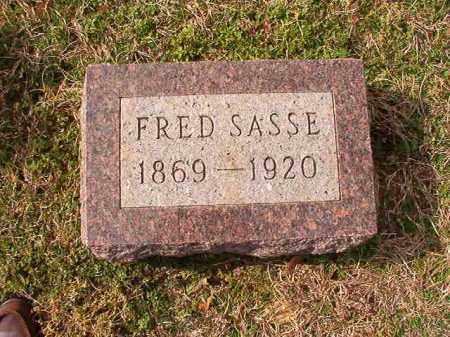 SASSE, FRED - Dallas County, Arkansas   FRED SASSE - Arkansas Gravestone Photos