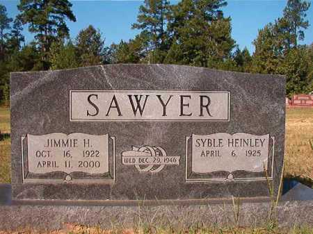 SAWYER, JIMMIE H - Dallas County, Arkansas | JIMMIE H SAWYER - Arkansas Gravestone Photos