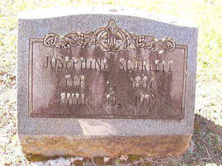 SCARLETT, JOSEPHINE - Dallas County, Arkansas | JOSEPHINE SCARLETT - Arkansas Gravestone Photos