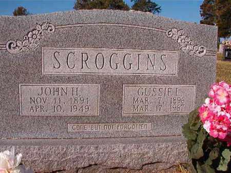 SCROGGINS, GUSSIE L - Dallas County, Arkansas | GUSSIE L SCROGGINS - Arkansas Gravestone Photos