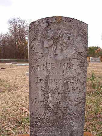 SEALE, ANNIE MELIE - Dallas County, Arkansas   ANNIE MELIE SEALE - Arkansas Gravestone Photos