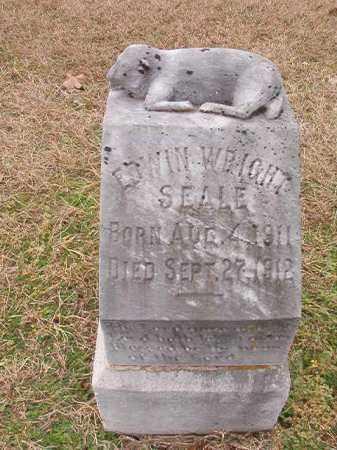 SEALE, EDWIN WRIGHT - Dallas County, Arkansas | EDWIN WRIGHT SEALE - Arkansas Gravestone Photos
