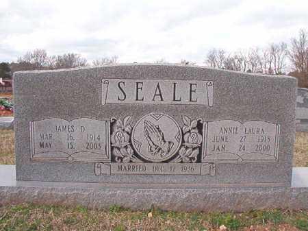 SEALE, ANNIE LAURA - Dallas County, Arkansas   ANNIE LAURA SEALE - Arkansas Gravestone Photos