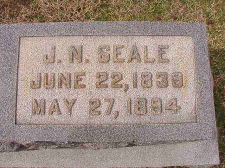 SEALE, J N - Dallas County, Arkansas | J N SEALE - Arkansas Gravestone Photos