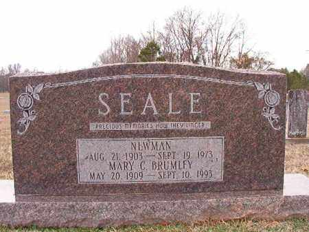 SEALE, NEWMAN - Dallas County, Arkansas | NEWMAN SEALE - Arkansas Gravestone Photos