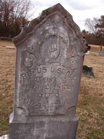 SEALE, RUFUS L - Dallas County, Arkansas | RUFUS L SEALE - Arkansas Gravestone Photos