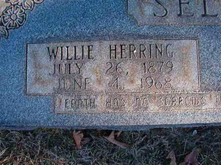 HERRING SELPH, WILLIE - Dallas County, Arkansas | WILLIE HERRING SELPH - Arkansas Gravestone Photos
