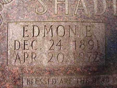 SHADDOCK, EDMON E - Dallas County, Arkansas | EDMON E SHADDOCK - Arkansas Gravestone Photos