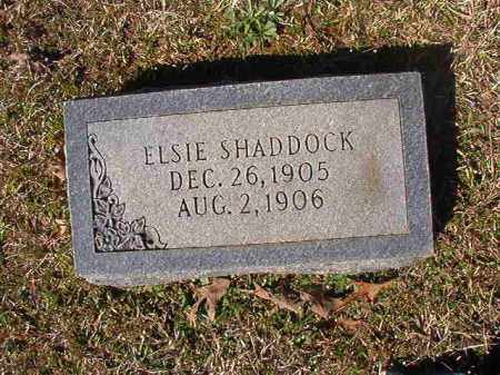 SHADDOCK, ELSIE - Dallas County, Arkansas | ELSIE SHADDOCK - Arkansas Gravestone Photos