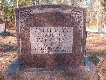 SHADDOCK, SAMUEL DOYLE - Dallas County, Arkansas | SAMUEL DOYLE SHADDOCK - Arkansas Gravestone Photos