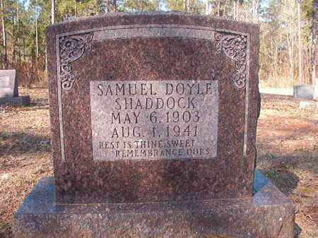 SHADDOCK, SAMUEL DOYLE - Dallas County, Arkansas | SAMUEL DOYLE SHADDOCK - Arkansas Gravestone Photos