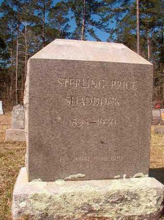 SHADDOCK, STERLING PRICE - Dallas County, Arkansas | STERLING PRICE SHADDOCK - Arkansas Gravestone Photos