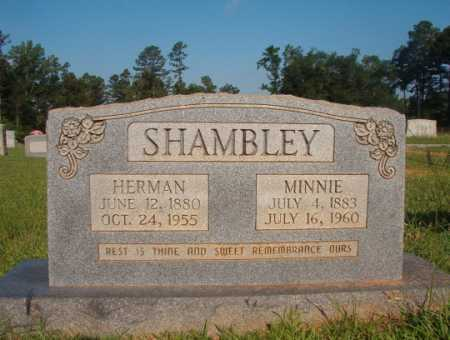 SHAMBLEY, HERMAN - Dallas County, Arkansas | HERMAN SHAMBLEY - Arkansas Gravestone Photos