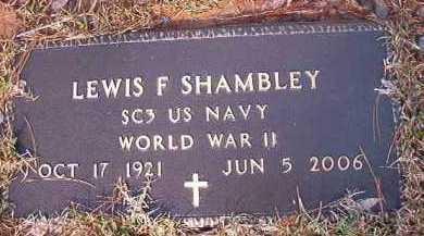 SHAMBLEY (VETERAN WWII), LEWIS F - Dallas County, Arkansas | LEWIS F SHAMBLEY (VETERAN WWII) - Arkansas Gravestone Photos