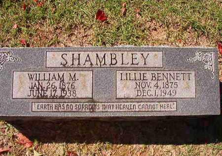 SHAMBLEY, WILLIAM M - Dallas County, Arkansas | WILLIAM M SHAMBLEY - Arkansas Gravestone Photos